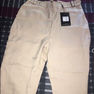 Trousers in stone size 10